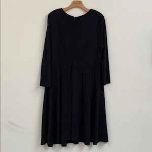Eloquii Dresses - Eloquii Black Dress with Faux Buttons Sz 16